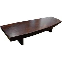 Andrianna Shamaris Rare Mahoni Wood Coffee Table