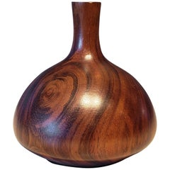 Turned Wood Vase or Vessel Crafted by Rude Osolnik
