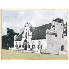 John O'Hara, Cape Dutch, Encaustic Painting