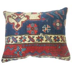 Persian Heriz Lumbar Rug Pillow