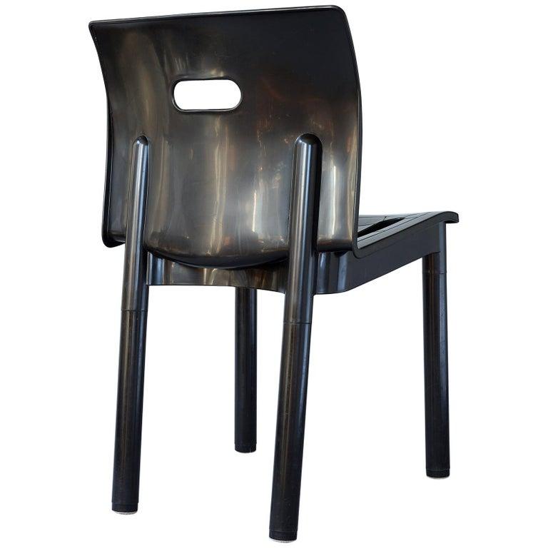 Sedia Universale 4867 Plastic Chair By Joe Columbo For