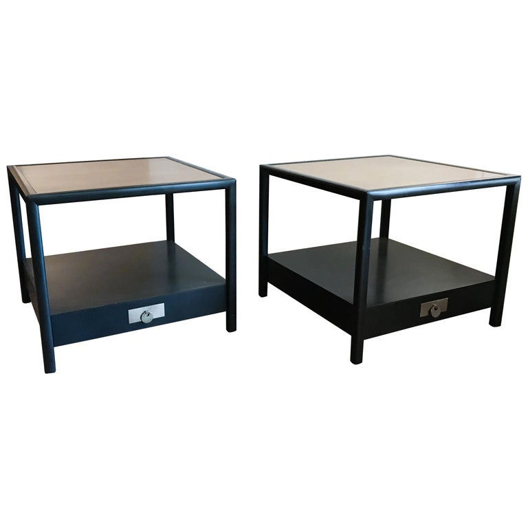 New World End Tables by Michael Taylor for Baker Furniture