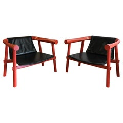 Pair of Patricia Urquiola for Artelano Log Chairs