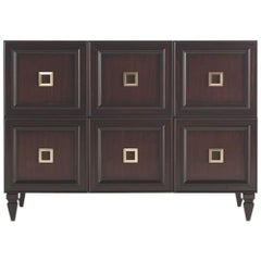 Gianfranco Ferre Peggy Chest of Drawers in Mahogany Wood