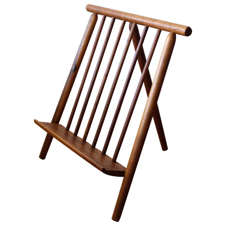 Arthur Umanoff Magazine Rack for Washington Woodcraft Products