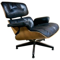 Original Charles & Ray Eames Lounge Chair Model 670 by Herman Miller, 1970s
