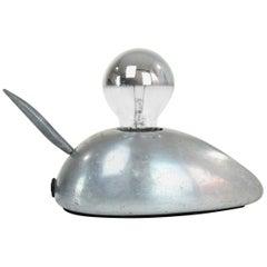 Vintage Steel Mouse Lamp