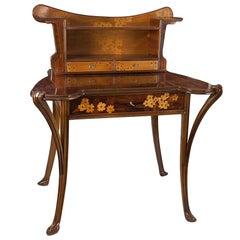 French Art Nouveau Desk by Louis Majorelle