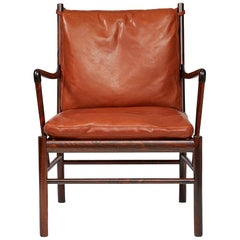 Ole Wanscher Colonial Chairs, Rosewood