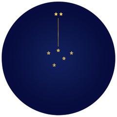 Deuxième Constellation de la Victoire, Contemporary Porcelain Dinner Plates