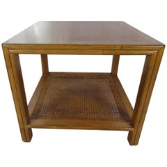 McGuire Side Walnut Table