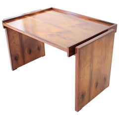 Brazilian Rosewood Desk in style of Joaquim Tenreiro