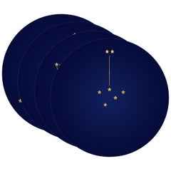 Box of Four Dinner Plates, Constellation de la Victoire