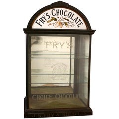 Fry's Chocolate Sweet Shop Display Cabinet by R Palmer Bristol