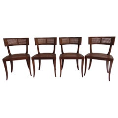 T.H. Robsjohn-Gibbings Set of Four Side Chairs