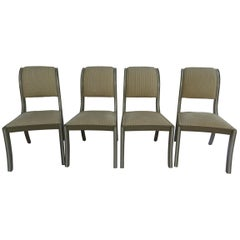 Set of 14 Regency Style Painted Side Chairs