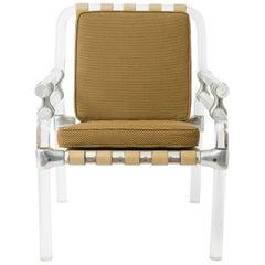 Jeff Messerschmidt 1500 Pipeline Series Lucite Chair