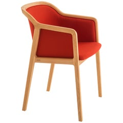 Vienna Soft Little Armchair, Contemporary Design Inspired by Traditional Chairs