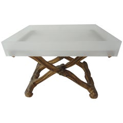 Louis XV-Style X-Base Table