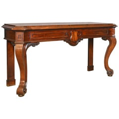 Antique Console Table, Scottish, William IV, Mahogany, Serving Table, circa 1835