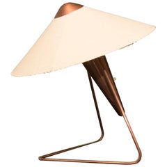 Mid-Century Modernist Desk or Wall Lamp by Helena Frantova for Okolo, 1950s