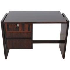 Brazilian Rosewood Desk in the Style of Joaquim Tenreiro