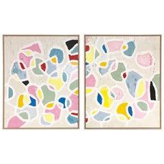 John O'Hara. Color Series 17, Encaustic Painting