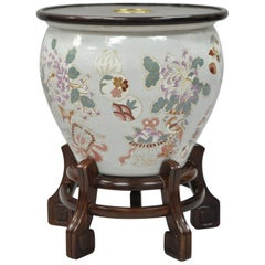 Drexel Heritage Ming Treasures Porcelain Chinese Urn Pedestal Dining Table Base