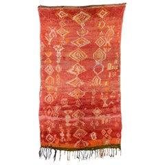 Vintage Moroccan Rehamna Rug