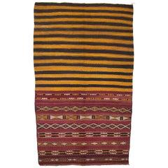 Vintage Moroccan Zemmour Sac Rug