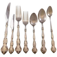 Scarborough by Wallace Sterling Silver Flatware Set Service 48 Pieces HH WS
