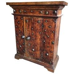 Petite 17th Century Italian Console Cabinet