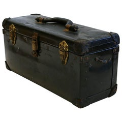 "Vintage ""Bell Sytem"" Leather Toolbox, circa 1940-1950s"