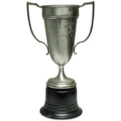 Early 20th Century Large Cup Trophy, circa 1939