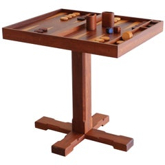 Artisan Backgammon / Checkerboard Game Table