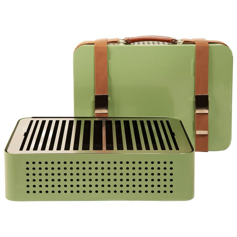 RS-Barcelona Mon Oncle Barbecue in Green by Mermelada Estudio For Sale
