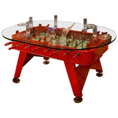 RS-Barcelona Low Oval RS Dining Table in Red by José Andrés