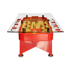 RS-Barcelona Tall Rectangular RS Dining Table in Red by José Andrés