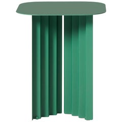 RS-Barcelona Small Plec Table in Green Metal by A.P.O.
