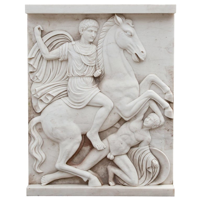 Marble Wall Relief, 21st Century