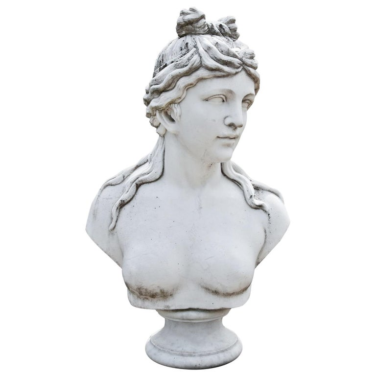 Marble Bust of Aphrodite, Late 20th Century