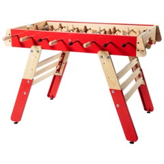 RS-Barcelona Tall RS4fun Football Table in Red by Rafael Rodríguez