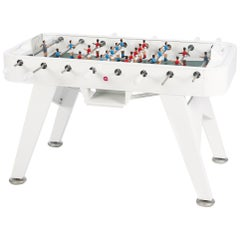 RS-Barcelona RS2 Football Table in White Iron by Rafael Rodríguez
