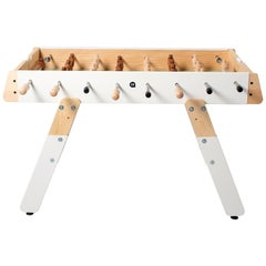 RS-Barcelona Medium RS4fun Football Table in White by Rafael Rodríguez