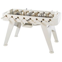 RS-Barcelona RS2 Gold Edition Football Table in White by Rafael Rodríguez