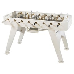 RS Barcelona RS2 Gold Edition Football Table in White by Rafael Rodriguez