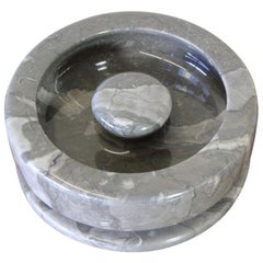 Marble Ashtray Designed by Angelo Mangiarotti