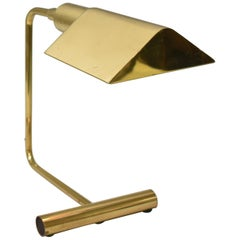 Mid-Century Modern Brass Desk Lamp by Koch & Lowy