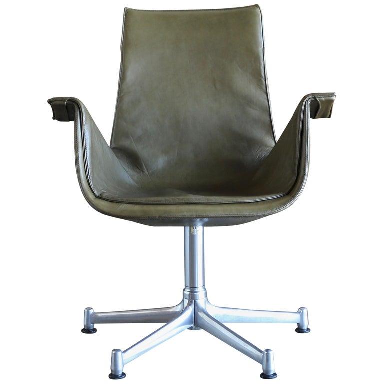 "Preben Fabricius and Jørgen Kastholm Swivel ""Bird"" Chair"