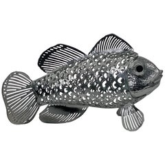 Christofle Lumiere Collection Fish Figurine